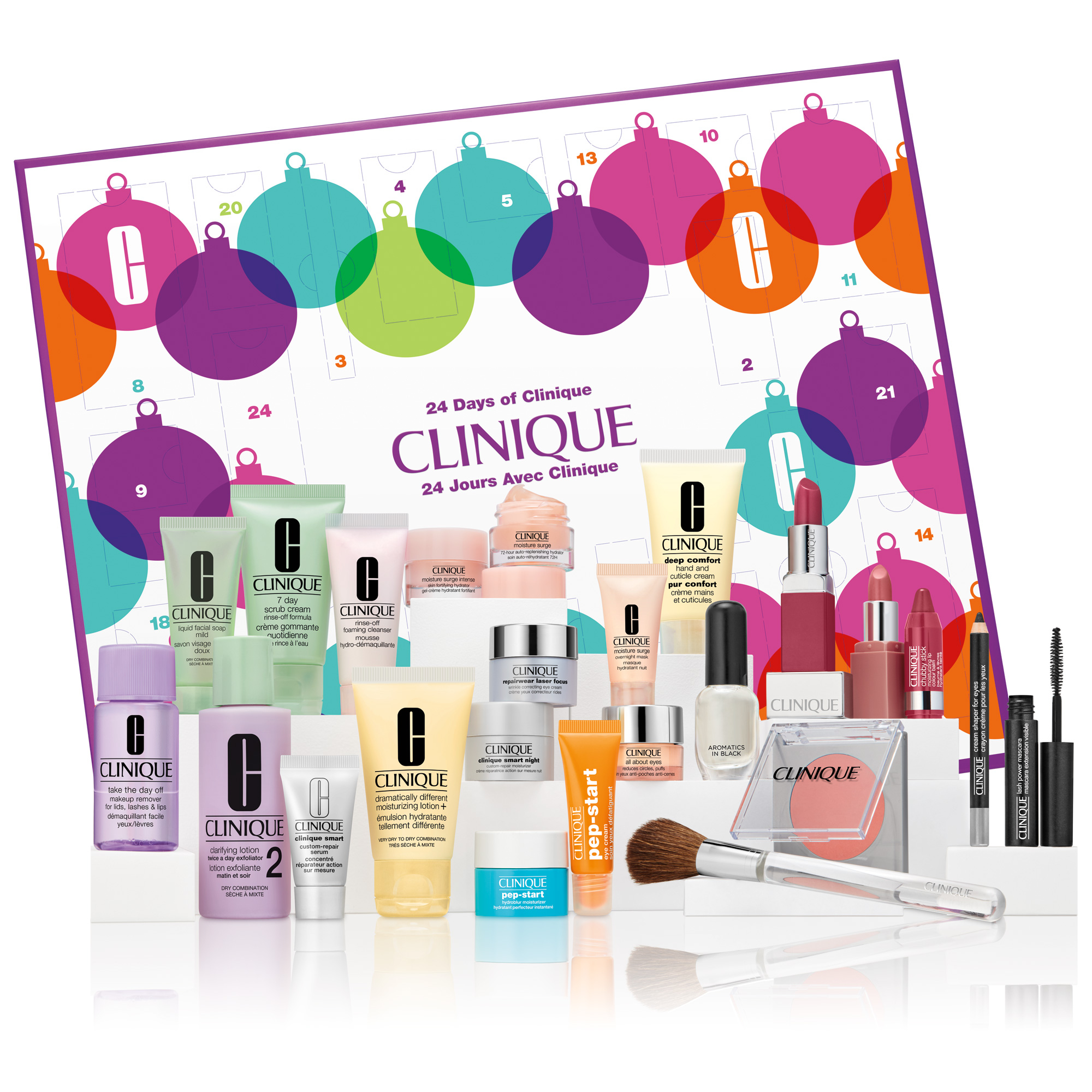 24 Days Of Clinique Calendar