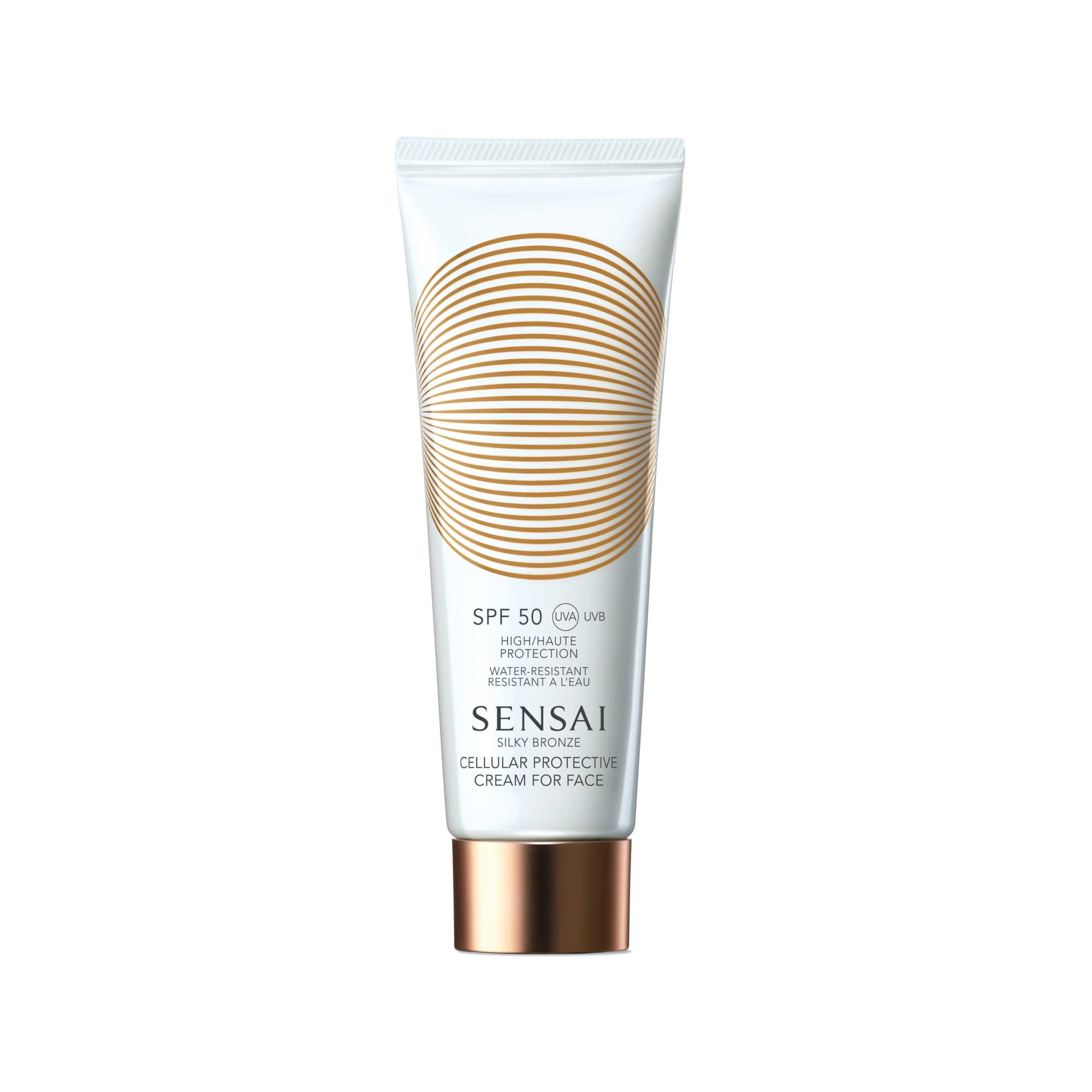 Silky Bronze Protective Cream for Face SPF 50