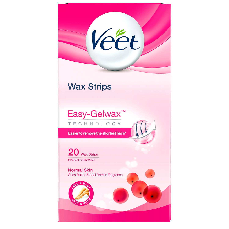 Cold Wax Strips för normal hud Veet