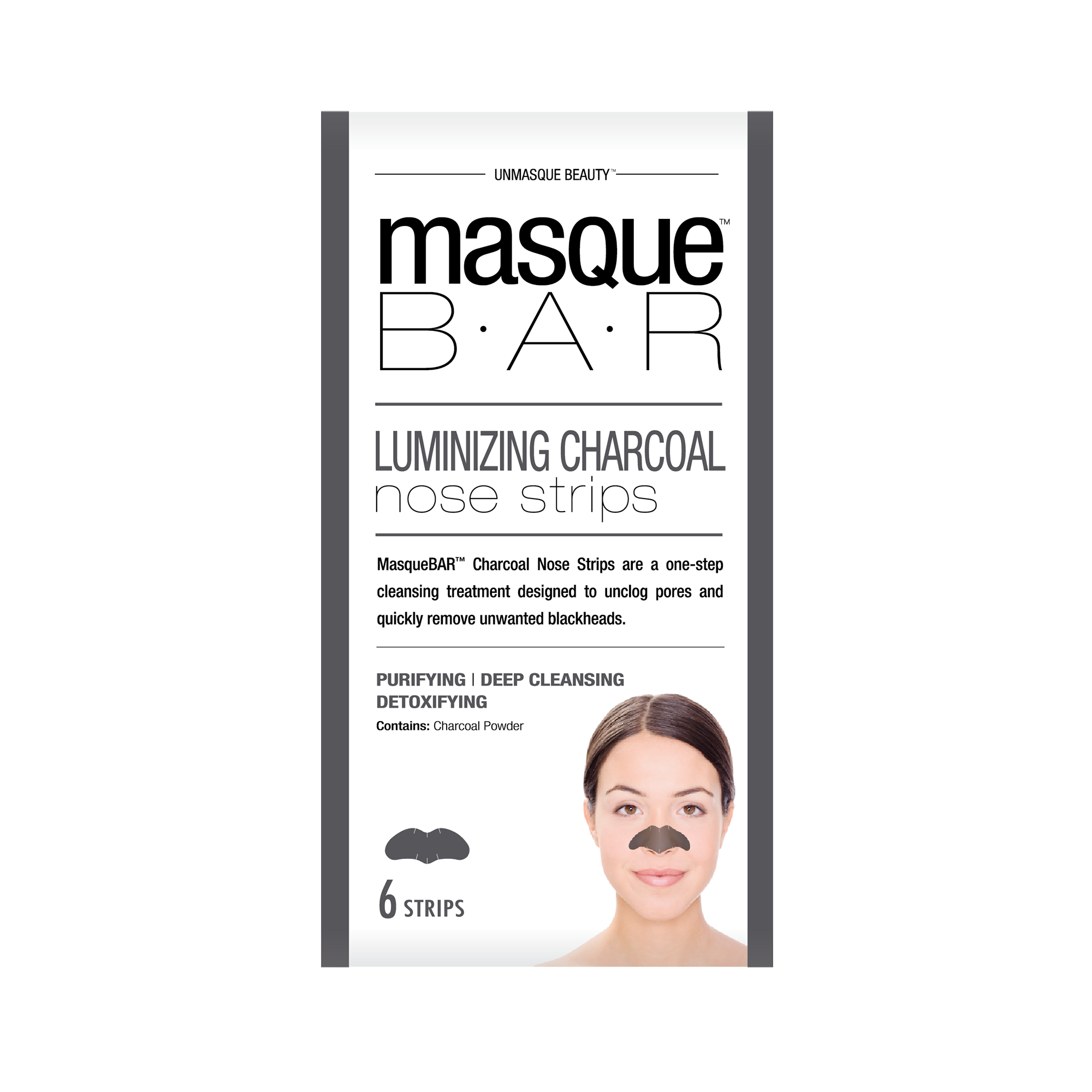 Charcoal Nose Strips masque B.A.R