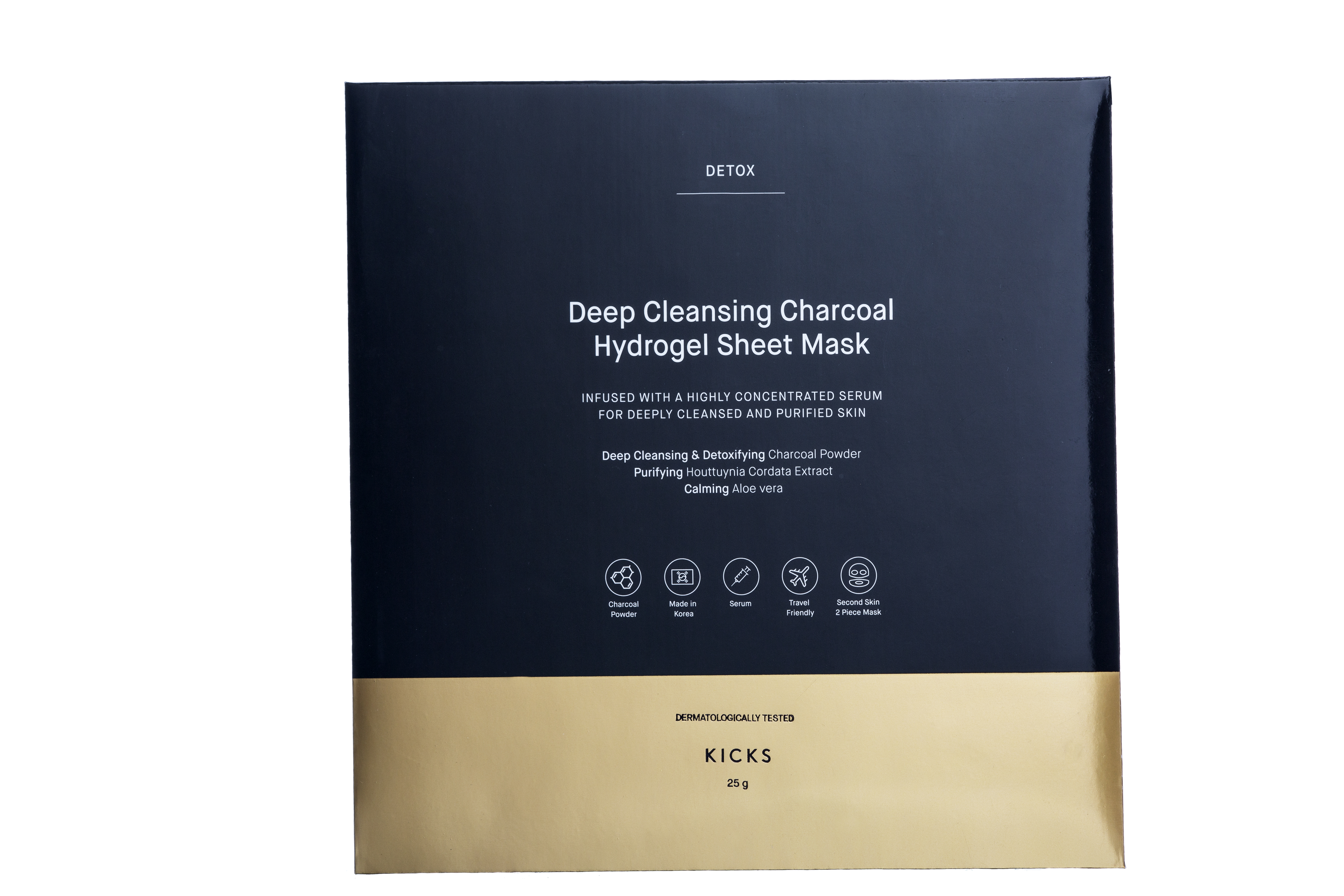 Deep Cleansing Charcoal Hydrogel Sheet Mask